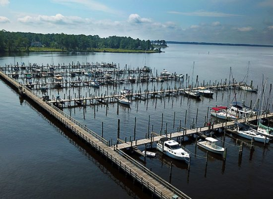 view of pamlico plantation marina